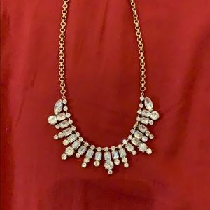 J. Crew diamond necklace